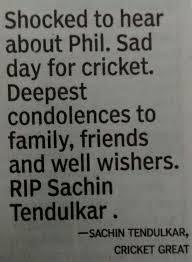 Rip Sachin tendulkar