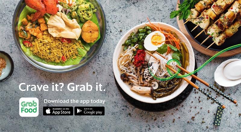 Grab food campaign