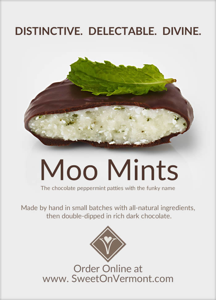 mail marketing campaign by Moo Mints